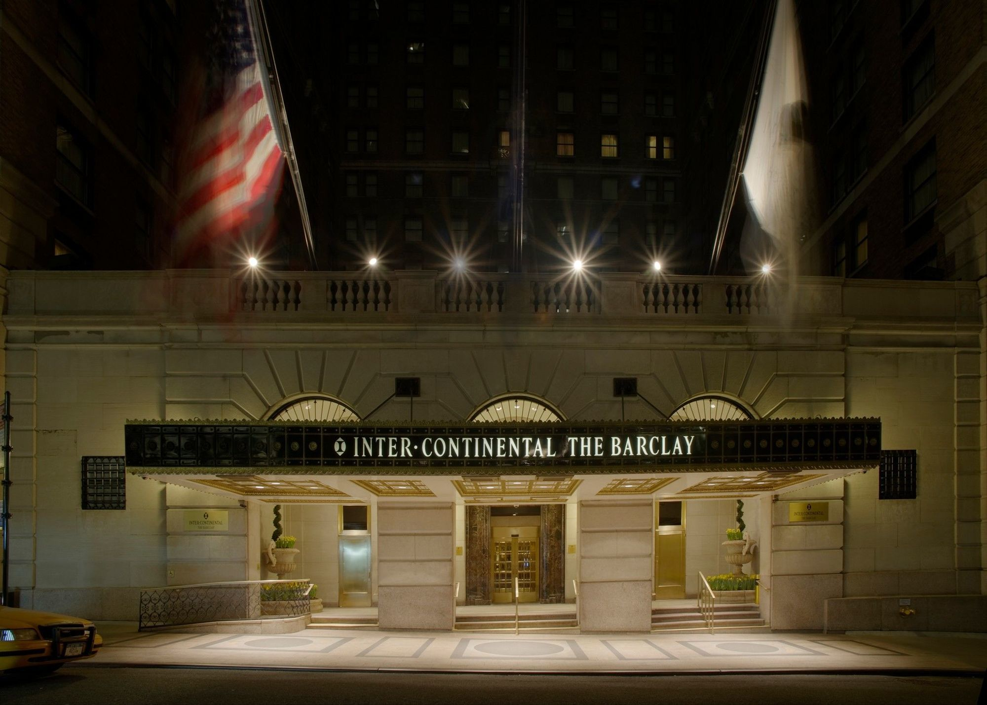 Hotel intercontinental the barclay new york city for The barclay